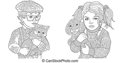 Kids Coloring Pages - Coloring Pages. Coloring Book for...