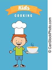 kids cooking design