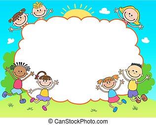 Diploma Certificate Background Kindergarten Preschool