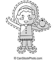 kids food nutrition design