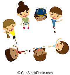 Kids frame