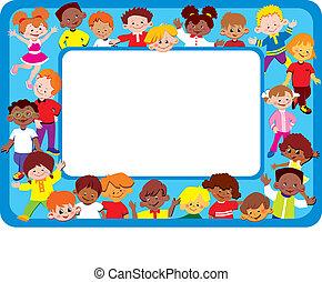 Kids frame.