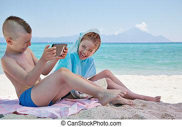 Kids Fun Beach Sea Smartphone