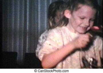 Kids Get Easter Treats (1973) - Cute kids get wonderful...