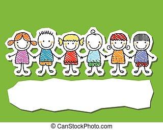 kids  - group of kids