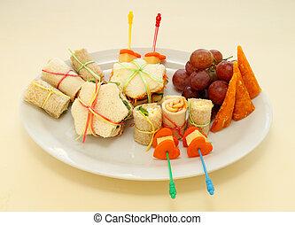 Kids Healthy Afternoon Snack - Healthy afternoon kids snack...