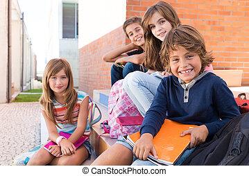 Kids in School