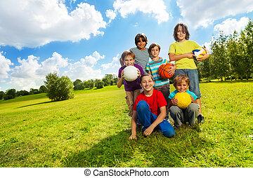 Kids like sports