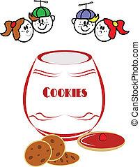 kids love cookies