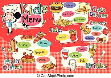 Kids Meal Menu