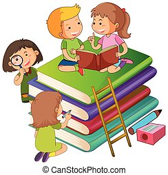 Kids on the books