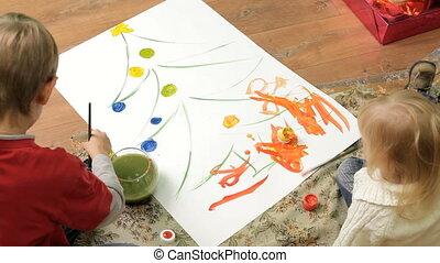 Kids paint colors
