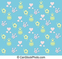 Kids pattern. Children background