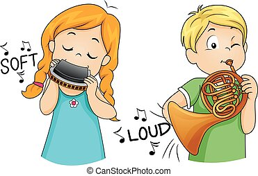 Kids Play Soft Loud Instrument