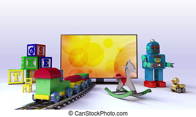 Kids, Toy contents for Smart TV