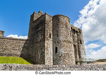 kidwelly, castillo, gales