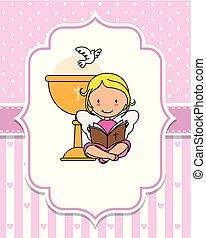 kielich, biblia, czytanie, anioł, następny