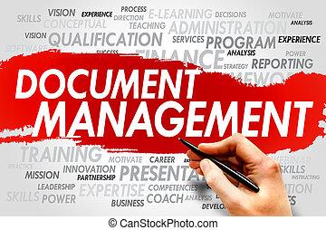 kierownictwo, dokument