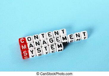kierownictwo, zadowolenie, system, cms