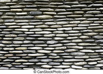 Great Kiesel, Steinmauer