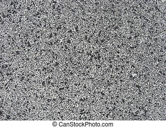 kieselsteine, steinmauer, winzig, beton, schwarz, weißes