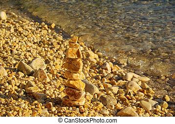 Kieselturm - tower from pebbles 06