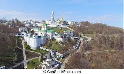 Kiev-Pechersk Lavra aerial view