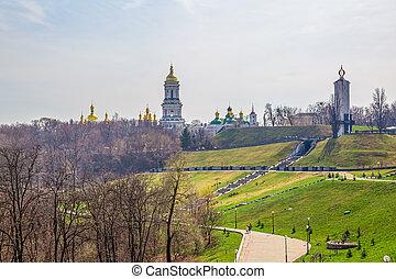 Kiev Pechersk Lavra - Famous Pechersk Lavra Monastery in...