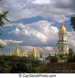Kiev-Pechersk Lavra - one of the four UNESCO World Heritage Sites within Ukraine. Kiev-Pechersk Lavra is a famous ancient orthodox monastery. Kyiv, Ukraine.