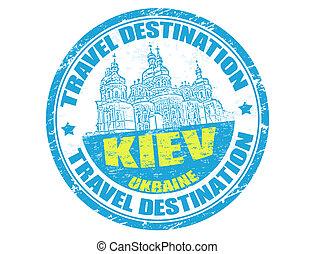 Kiev stamp