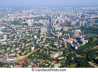 Kiev - the capital of Ukraine. View from above.