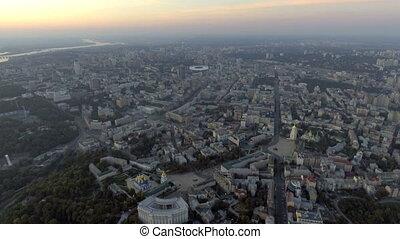 Kiev. Ukraine. Aerial view. Kyiv