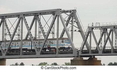 Electric railway in Kiev - KIEV, UKRAINE %u2013 MAY 6...