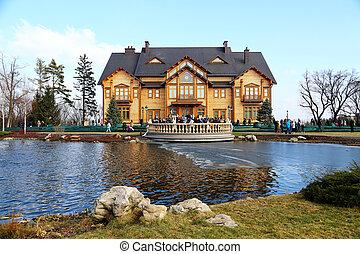 former residence of the President of Ukraine Viktor Yanukovych