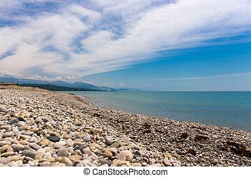 kiezel strand