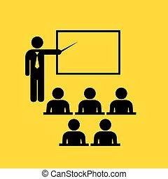 kihallgatás, jelkép, tanár