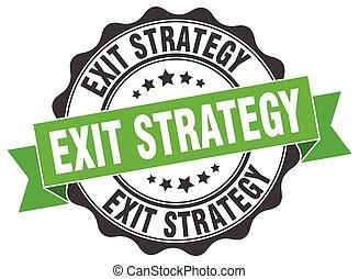 kijárat, stratégia, stamp., cégtábla., fóka