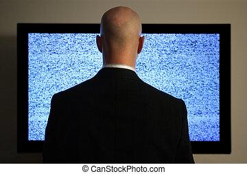 kijkende televisie