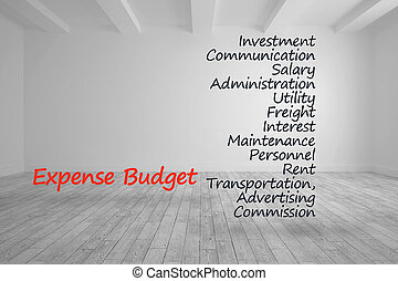 kikötések, költségvetés, írott, költség, fényes, szoba