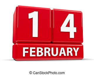 kikövez, 14 february