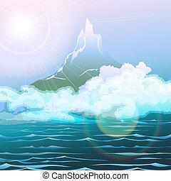 kilátás a tengerre
