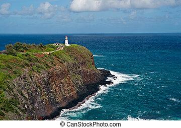 Kilauea Lighthouse on Kauai, Hawaii