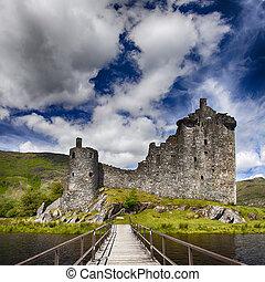 kilchurn, escocia, castillo