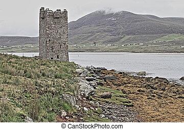 Kildavnet castle - HDR