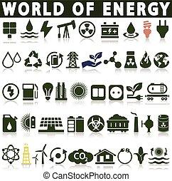 kilder, energi, magt