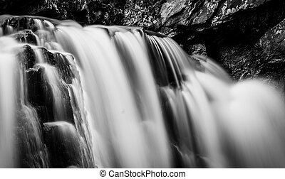 Kilgore Falls, at Rocks State Park, Maryland.