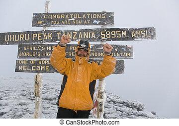 kilimanjaro, サミット, 029