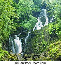 killarney, torc, cascada, kerry, nacional, parque de condado...