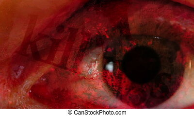 Killings fast eye horror abstract - HD killings fast eye...
