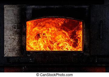 kiln hot burn